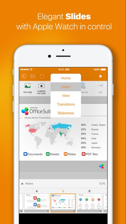 OfficeSuite Pro (Mobile Office) screenshot-3