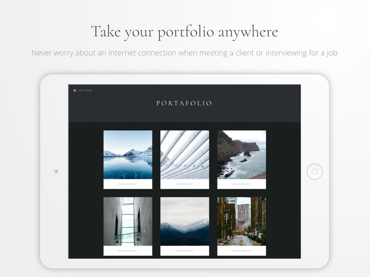 Portafolio - Design a Portfolio & Photo Albums screenshot-4