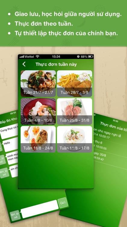 Món Ăn Ngon - Cẩm nang nội trợ, thực đơn hàng ngày screenshot-4