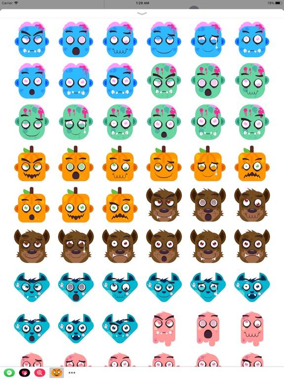 Eeriemoji - Halloween Stickers screenshot 6
