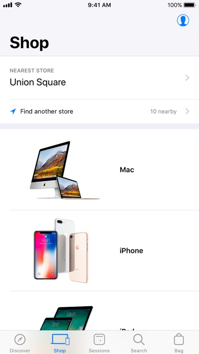 Apple Store review screenshots