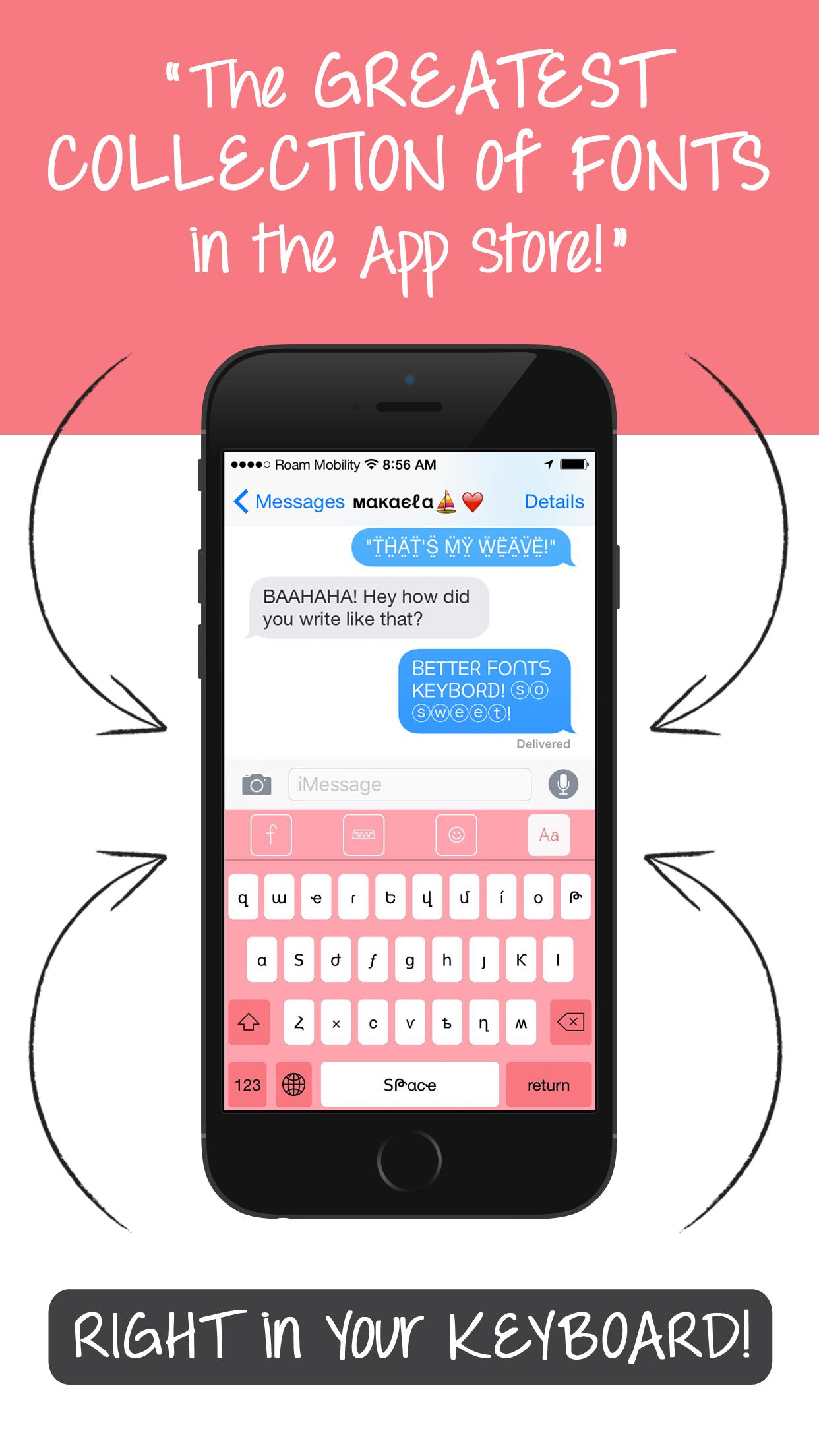Better Font-s Keyboard-s Cool Text & Symbols Screenshot
