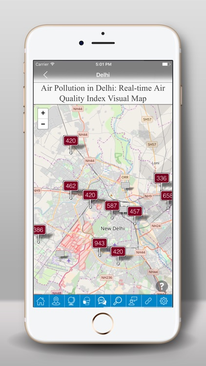 Air quality -AQI PM2.5 Checker screenshot-2