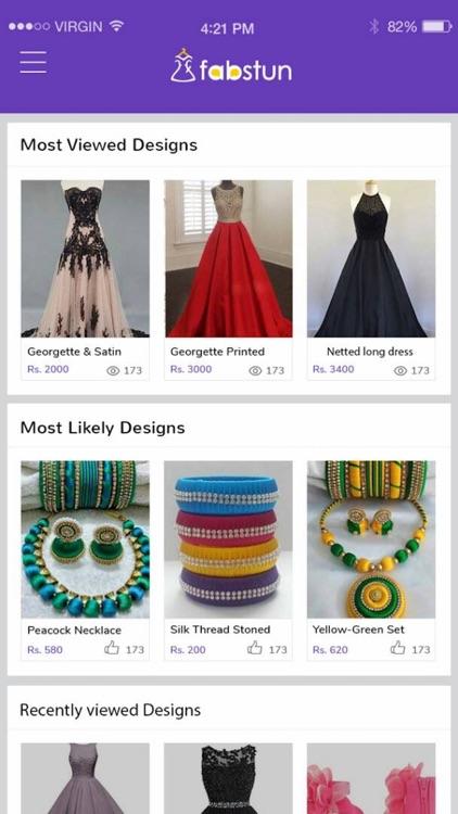 Fabstun - Online Fashion App