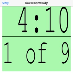 Timer for Duplicate Bridge