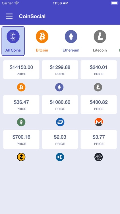 Coin Social - Crypto Tracker screenshot-0