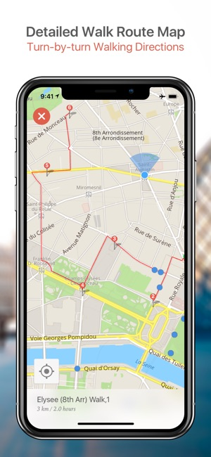 Best Nyc Map App.New York Map And Walks Su App Store