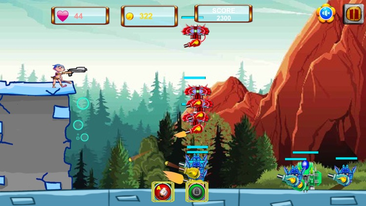 Caveman VS Aliens Robots screenshot-1