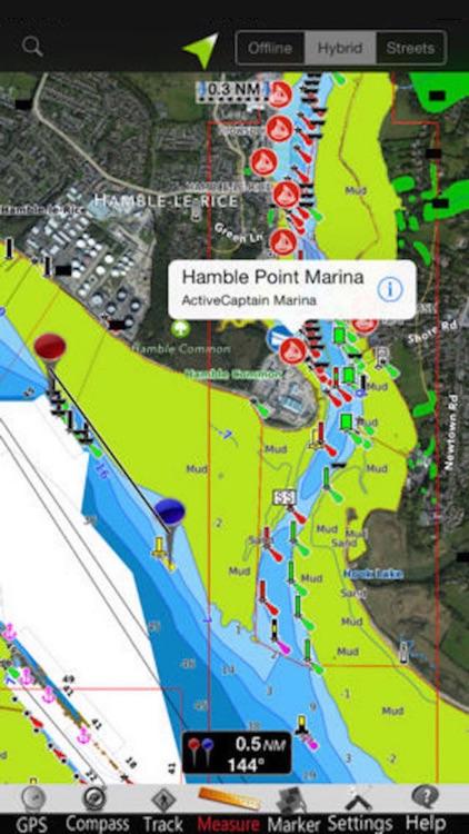 England GPS Nautical Charts