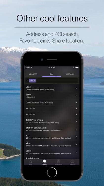 Guadeloupe Offline Navigation screenshot-4