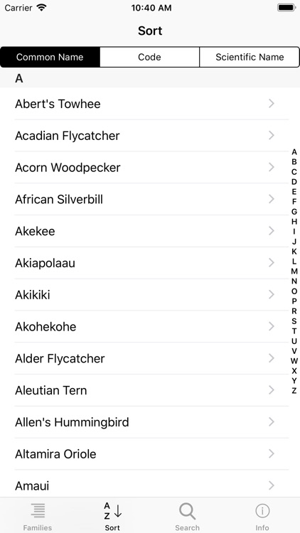 Learning Birds Check-list screenshot-3