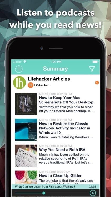 letmeknow: The best RSS Reader screenshot-4
