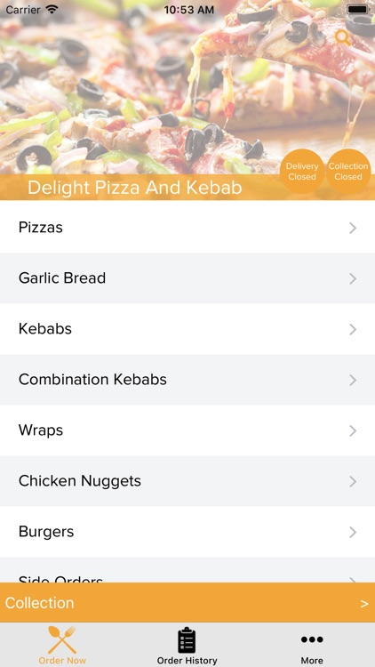 Delight Pizza And Kebab