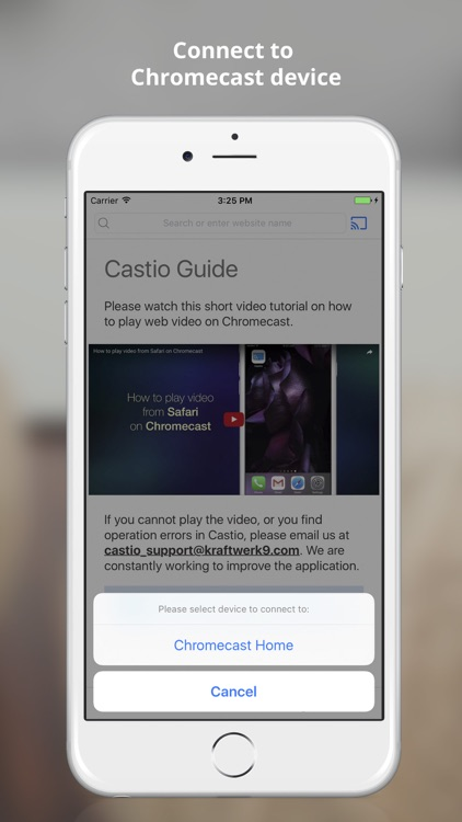 Castio for Chromecast - Google Cast App screenshot-1
