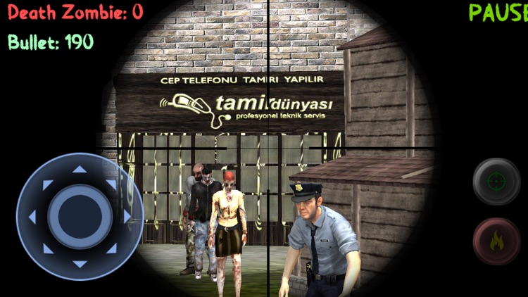 Sniper: Zombie Hunter Missions screenshot-0