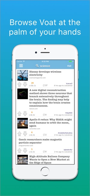 Voatify - Uncensored News on the App Store