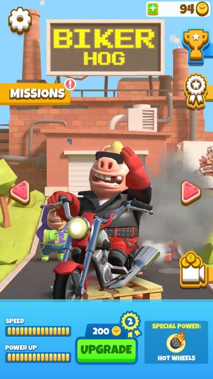 Hog Run - Escape the Butcher screenshot-0