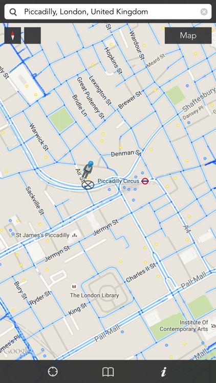 iStreets - Google Street View™