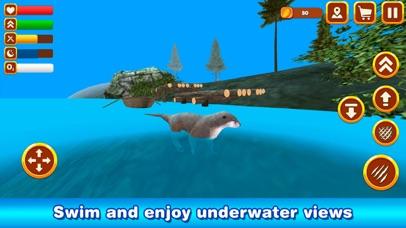 Otter Simulator: Sea Animal Survival 3D screenshot four