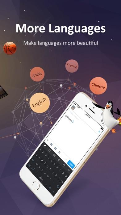 GO Keyboard-Emojis&Cool Themes ScreenShot2
