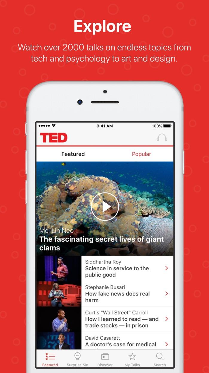 TED Screenshot