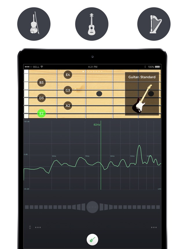 Тюнер - n-Track Tuner Screenshot