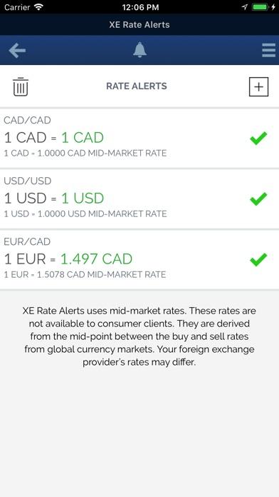 XE Currency Pro screenshot1