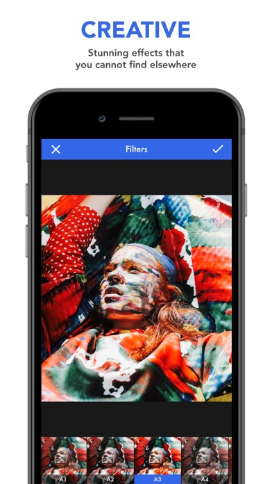 Thyra - Creative Photo Editor Screenshots