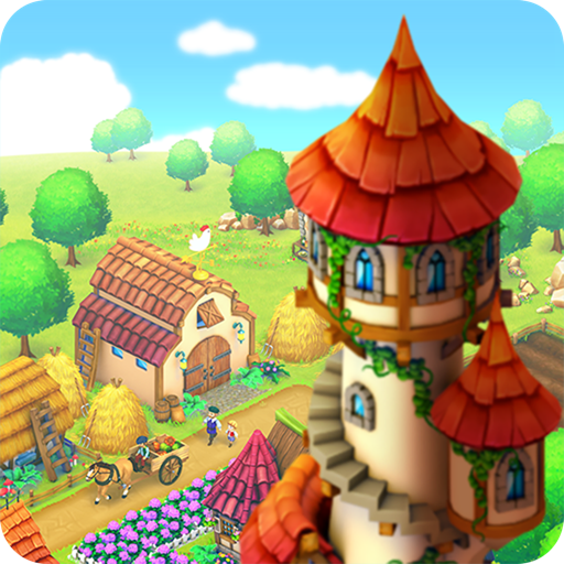 Town Village: Farm Build Trade
