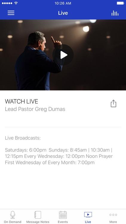 Crossing Church | Greg Dumas