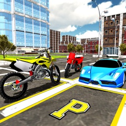 Bike Race & Motorcycle Parking