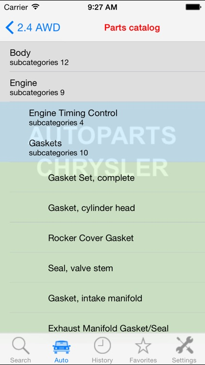Autoparts for Chrysler screenshot-1