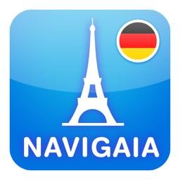 Paris Multimedia Travel guide in German