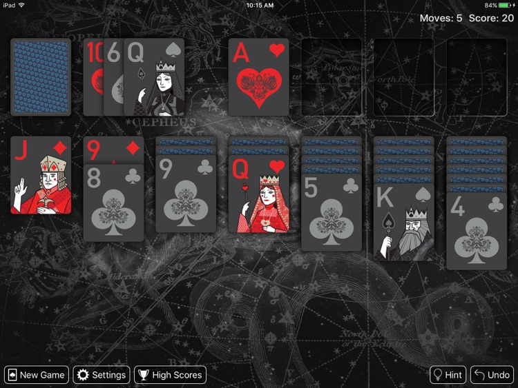 Real Solitaire for iPad screenshot-3