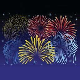 Fireworks Stickers Plus