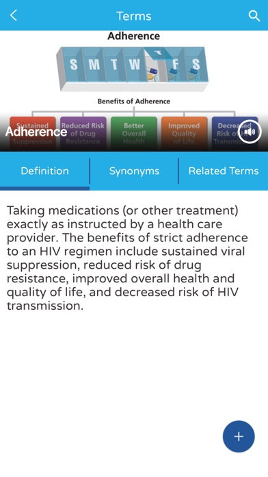 download AIDSinfo HIV/AIDS Glossary apps 0