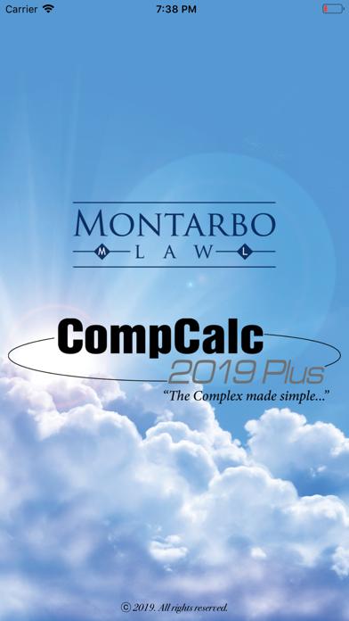 CompCalc Plus - 2019 Screenshots