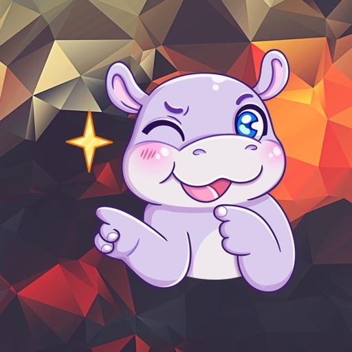Cute Hipopotam