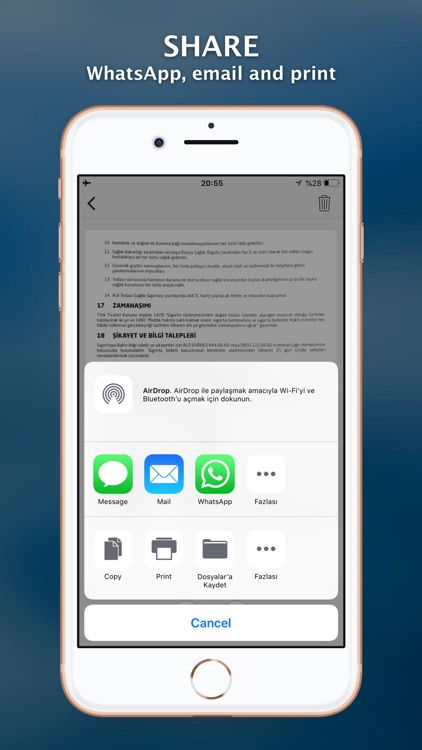Scanner+ Scan PDF Documents screenshot-3