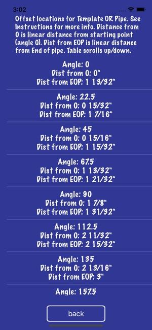 pipe saddle layout calculator di app store
