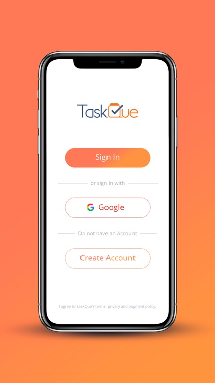 TaskQue screenshot-1