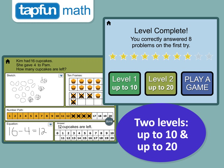 Math Word Problems for K-1