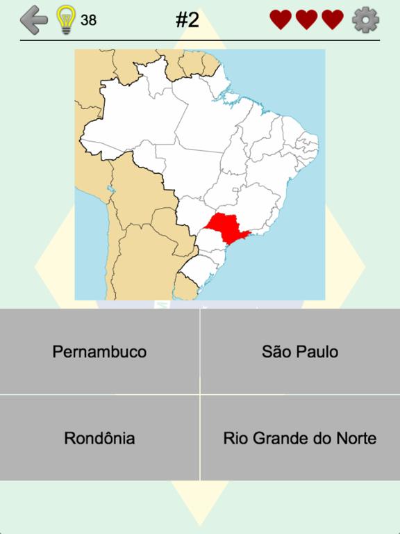 Brazilian States - Brazil Quiz Screenshots