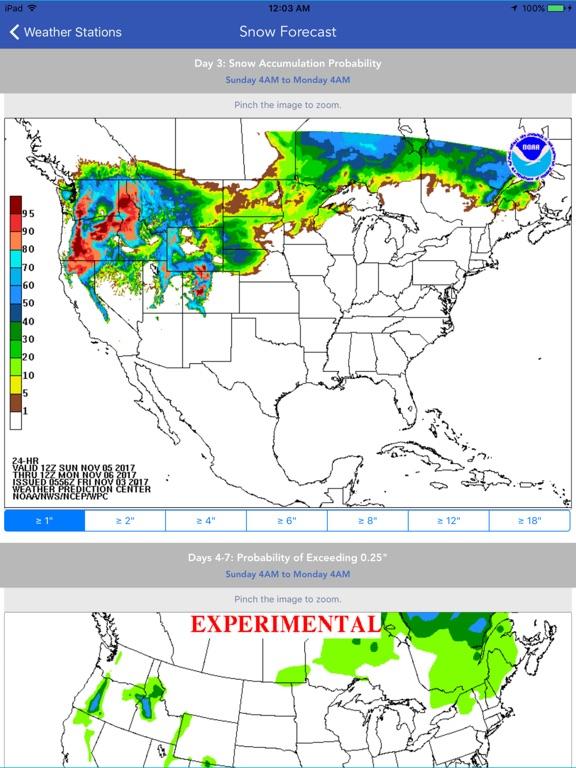 Snow Report & Forecast screenshot 8