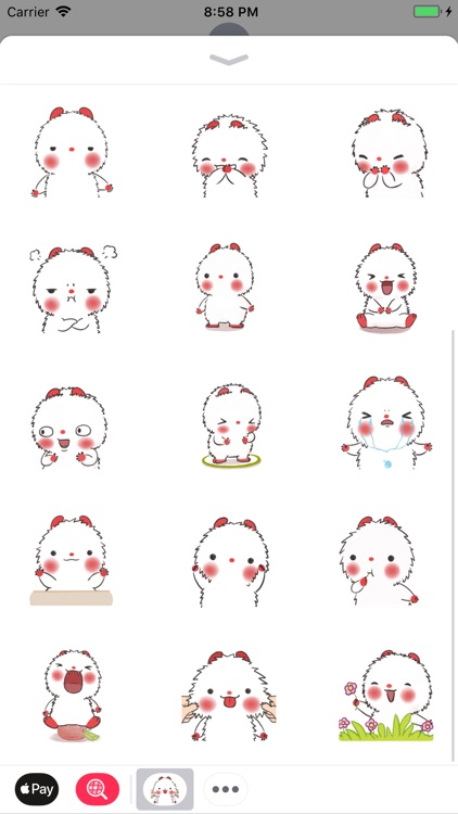 Poro Cute Stickers Pack