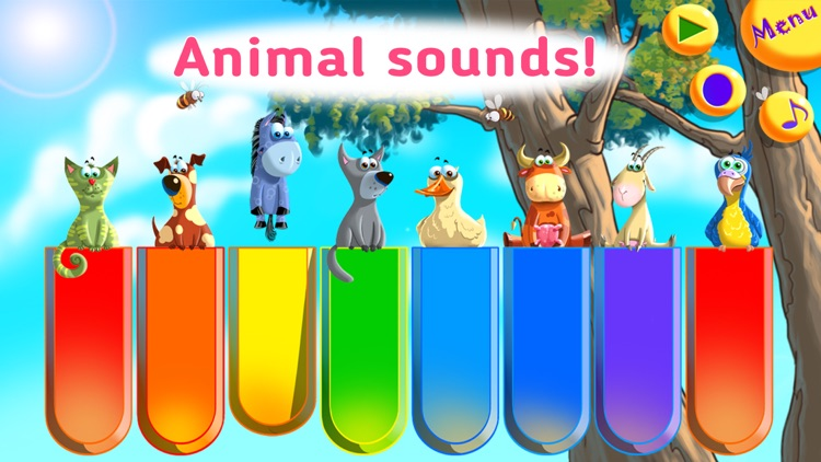 Animal Piano: educational game