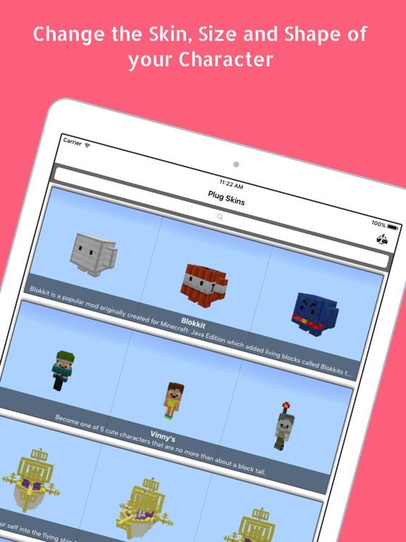 Plug Skins 4D for Minecraft screenshot 11