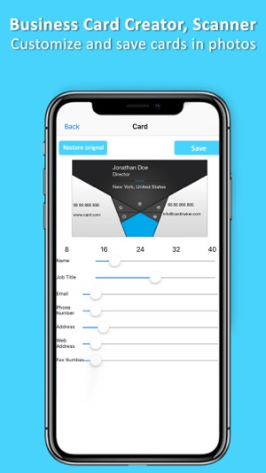 Business card creator scanner on the app store business card creator scanner on the app store colourmoves