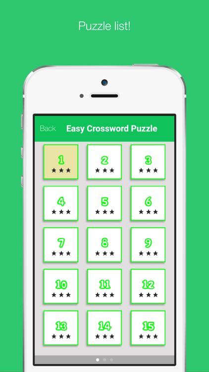 Easy Crossword Puzzle screenshot-3