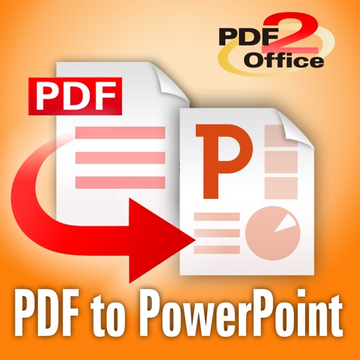 PDF to PowerPoint - PDF2Office iOS App